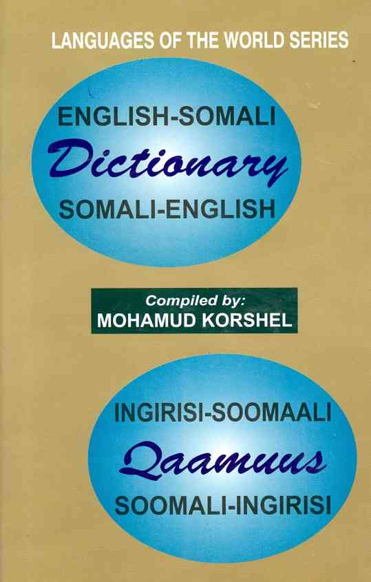 English-somali / Somali-english Dictionary By Mohamud Kprshel